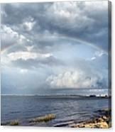 Rainbow Seascape Canvas Print