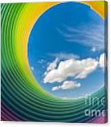 Rainbow Sky 2 Canvas Print