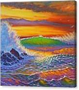 Rainbow Sunset IIi Canvas Print