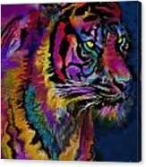 Rainbow Tiger Variant Canvas Print