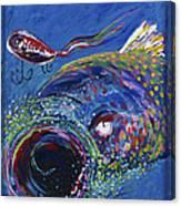 Rainbow Trout Detail B Canvas Print