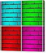 Rainbow Walls Canvas Print