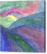 Rainbow Way Canvas Print