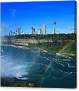 Rainbows Over Niagara Canvas Print