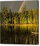 Rainbows Over Otter Lake Canvas Print