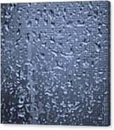 Raindrops On Window I Canvas Print