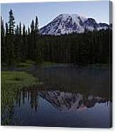 Rainier Awakening Canvas Print