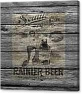 Rainier Beer Canvas Print