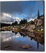 Rainier Spray Park Reflection Canvas Print