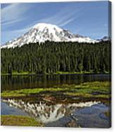 Rainier's Reflection Canvas Print