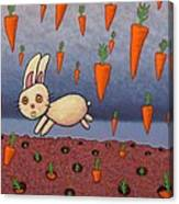 Raining Carrots Canvas Print