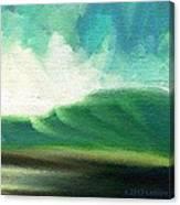 Raining Upward Canvas Print