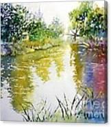 Rainny Day  Canvas Print