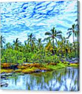 Rainy Afternoon In Kona Canvas Print