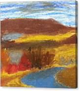 Rainy Creek Canvas Print