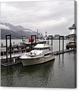 Rainy Day Dock Canvas Print