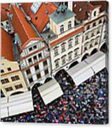Rainy Day In Prague-2 Canvas Print