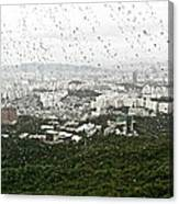 Rainy Day In Seoul Canvas Print