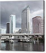 Rainy Day In Tampa Canvas Print