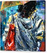 Rainy Day People #3 Canvas Print