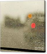 Rainy Day Perspective Canvas Print