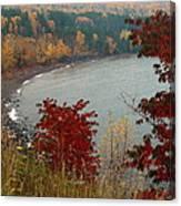 Rainy Falltastic Day Canvas Print
