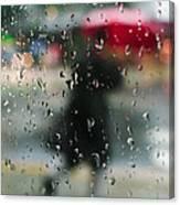 Rainy Morning Canvas Print