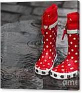 Rainy Season In Germany Canvas Print