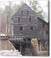 Rainy Yates Mill Canvas Print