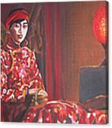 Raise The Red Lantern Canvas Print
