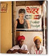 Life Of Rajasthan Canvas Print