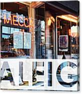 Raleigh At The Mecca Canvas Print