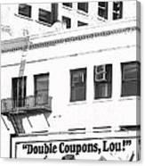 Raleigh Cigarettes Billboard Ad Portland Oregon 1979 Canvas Print
