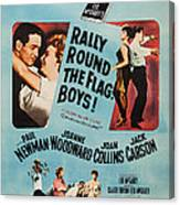 Rally Round The Flag, Boys, Us Poster Canvas Print