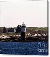 Ram Island Lighthouse In Maine Canvas Print