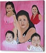 Rameriz Portraits Canvas Print