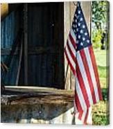 Ranch Flag Canvas Print