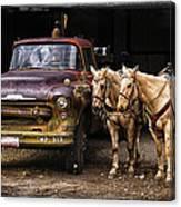 Ranch Transportation Canvas Print