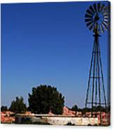 Ranch Windmill Canvas Print