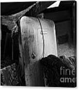 Ranchers House Black And White I Canvas Print