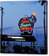 Rancho Super Car Wash Canvas Print