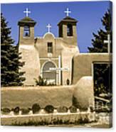 Ranchos De Taos Church Canvas Print