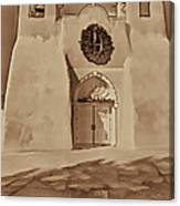 Ranchos In Palladium Canvas Print