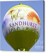 Randhurst Water Tower Canvas Print