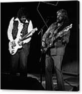 Randy And C.f. Rockin Out In Spokane In 1976 Canvas Print