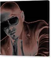 Rap Pitbull Canvas Print