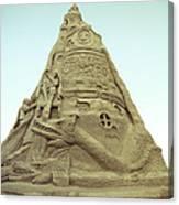 Rapunzel's Sandcastle Canvas Print