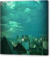 Rare Clouds Over Vegas Canvas Print