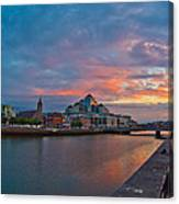 Rare Irish Sunset Canvas Print