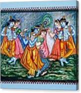 Ras Leela Canvas Print